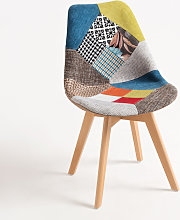 Chaise Synk Patchwork - Patchwork Couleurs