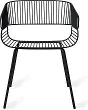 Chaise TRAME de Petite Friture, Noir