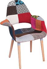 Chaise Trone Patchwork