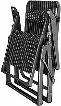 Chaises de pont pliantes surdimensionnées Chaises