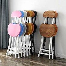 Chaises de salle à manger pliables, meubles de