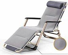 Chaises de terrasse pliantes et inclinables,