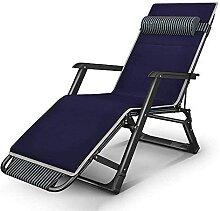 Chaises de terrasse pliantes et réglables -