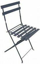 Chalet&jardin - Chaise de jardin pliante BISTROT -