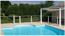 Chalet&jardin - Panneau transparent 1 mètre pour