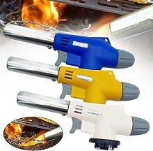 Chalumeau à gaz multifonction rechargeable,