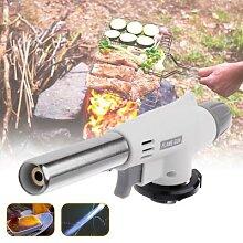 Chalumeau de cuisine à gaz rechargeable, briquet