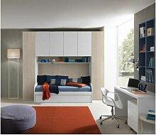 Chambre à pont avec canapé-lit et deuxième lit
