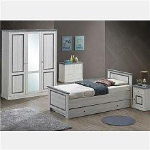 Chambre ado couleur chêne gris LEONIE