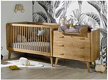 Chambre bébé Caprice lit évolutif 70x140 cm et