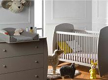 Chambre bébé Medea lit évolutif 70x140 cm et