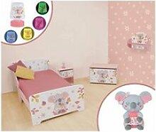 Chambre complète koala 6 en 1 avec lit + coffre