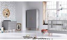 Chambre complète lit bébé 60x120 - commode à