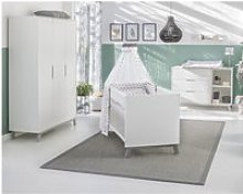 Chambre complète lit évolutif 70x140 commode à