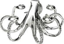 Chandelier pieuvre 4 branches en aluminium