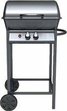 Chandler - barbecue à gaz 2 bruleurs + ustensiles