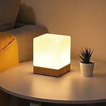 Chao Zan Moderne Cube Lampe de Table Abat-jour en