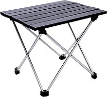 chaoxiner Table de camping pliante portable en
