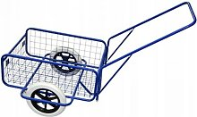Chariot de jardinage laitier 80kg 45x64cm