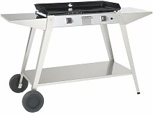 Chariot inox pour plancha Baiona 750 - Forge Adour