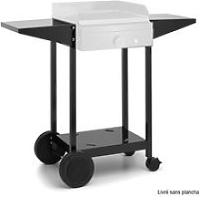 Chariot pour plancha noir - choa45 choa45