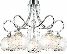 Charmante lustre cristal plafonnier lampe plafond