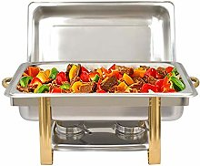 Chauffe-Plat 9 litres Set Professionnel Chafing