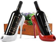 Chaussure à talons hauts, vin, élégant,