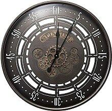 chazuohuaile Co.,ltd Horloge Murale Vintage Art