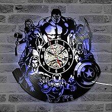 Cheemy Joint Horloge Murale 12 Pouces Marvel