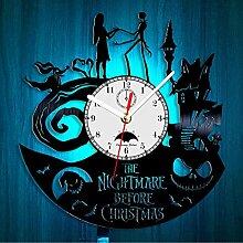 Cheemy Joint Horloge Murale à Quartz en Vinyle de
