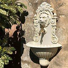chemin_de_campagne Fontaine Tête de Lion Murale