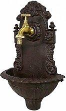 chemin_de_campagne Style Ancienne Fontaine Fonte