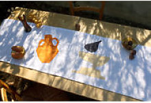 Chemin de table Collation Zenith / 45 x 150 cm -