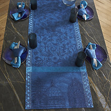 Chemin de table en lin crepuscule 50 x 200