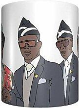 CHENGONG Ghana Dit au Revoir Meme Tasse à café