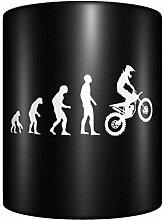 CHENGONG Motocross Evolution Dirt Bike Rider Tasse