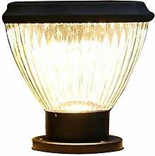 CHENJIA Lanterne de Pilier Anti-Rouille Vintage