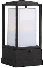 CHENJIA Lanterne de pilier Vintage antirouille