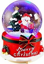 CHENSTAR Boule à neige de Noël - Boîte à