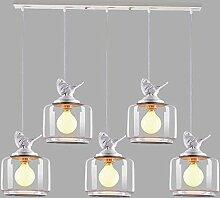 Chents 5 Lumières Minimaliste Créatif Boule