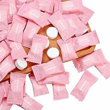 cherrypop Lot de 100 serviettes compressées