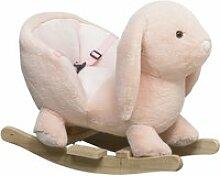Cheval à bascule jouet à bascule lapin fauteuil