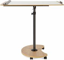 Chevalet de conférence / table mobile Rocada