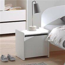 Chevet blanc chambre enfant scandinave SANNA