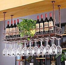CHGDFQ Étagère à vin créative à suspendre -