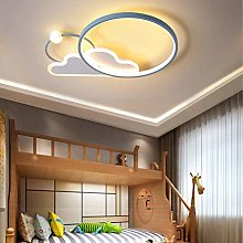 Chic Dimmable Kids Room Lamp LED Plafonnier