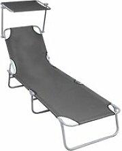 Chic sièges de jardin serie londres chaise longue