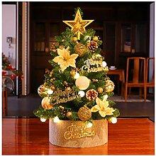 CHICAI Accueil Décor de Noël artificiel Arbre de