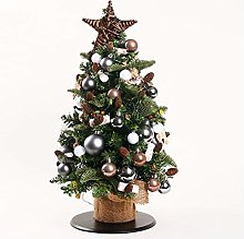 CHICAI Arbre de Noël artificiel 45cm / 17.7inch